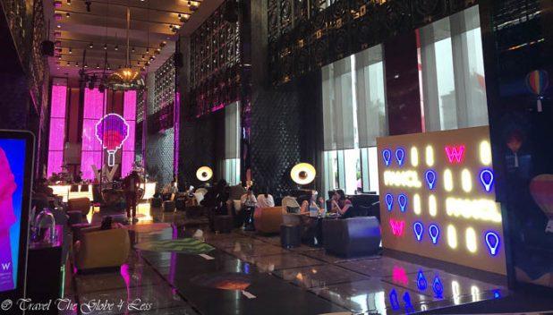 W Beijing Chang'An lobby