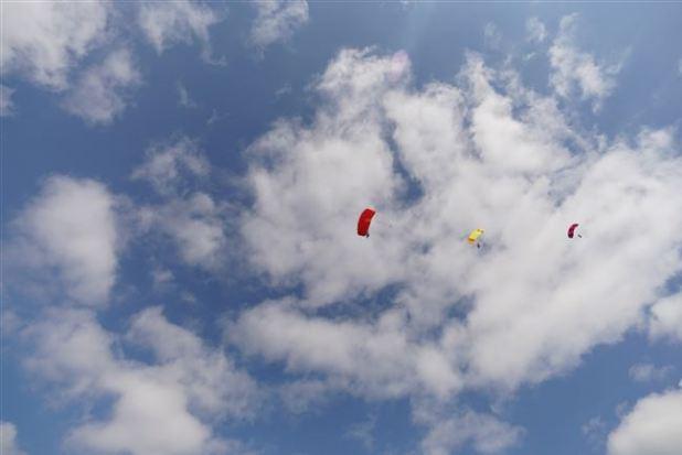 Skydiving circle