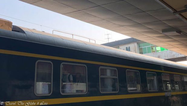 Overnight train in Beijing