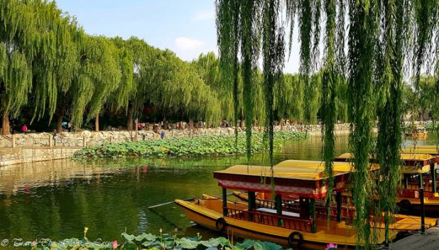 Cycle to Beihai Park in Beijing