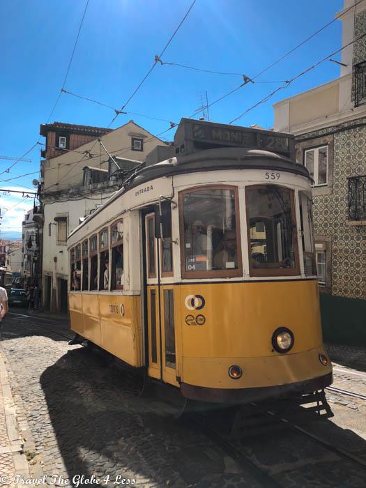 Alfama tram line
