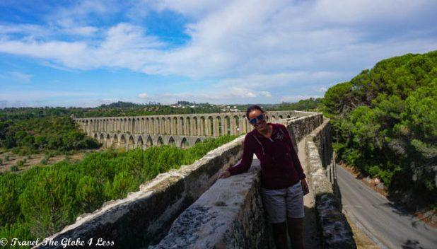 on the Pegoes Aqueduct