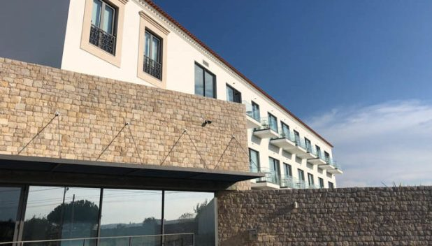 Accommodation wing of the Real Abadia Hotel