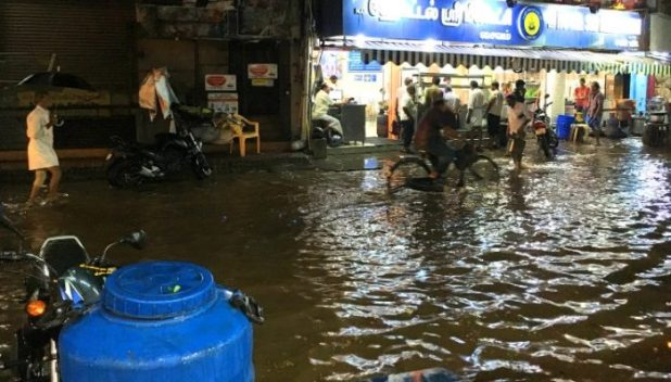 flooded streets of Madurai