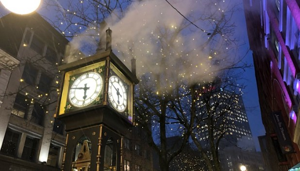Steam clock in Vancouver