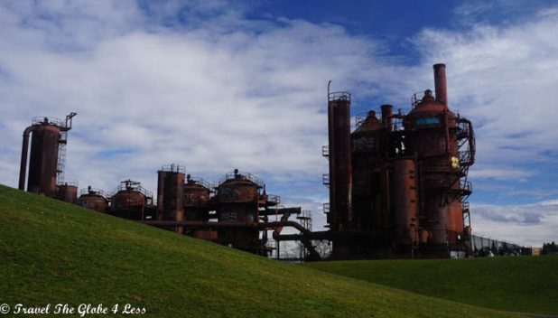 Gasworks Park by day