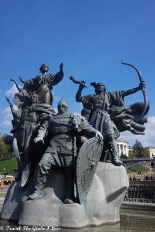 Memorial on Indepdence Square, Kiev