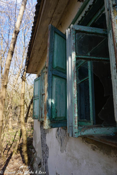 Abandoned homes in Zalissya, Chernobyle exclusion zone