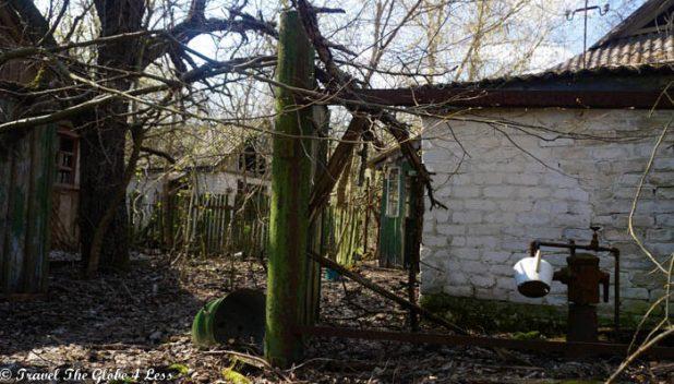 An abandoned kettle in Zalissya