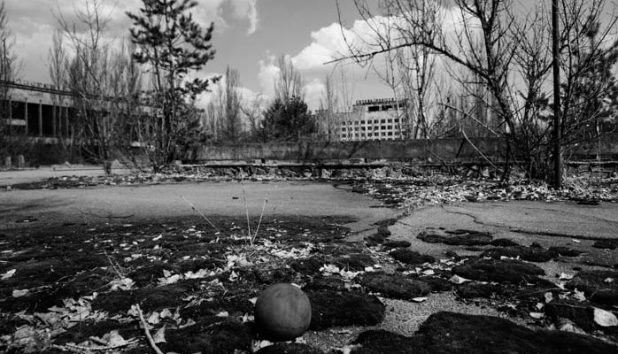 Pripyat main square