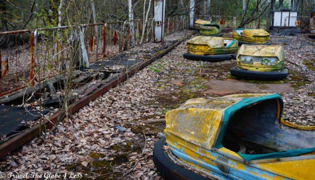 Dodgems in Pripyat
