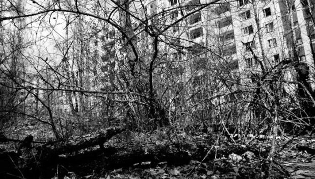 The modern day ghost town of Pripyat, Chernobyl exclusion zone