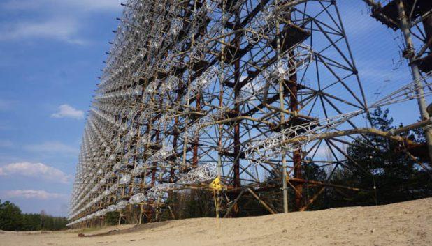 Radar Duga listening devices