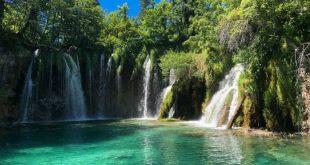 pools at Plitvice Lakes