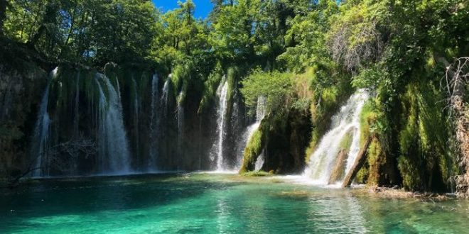pools at Plitvice Lakes