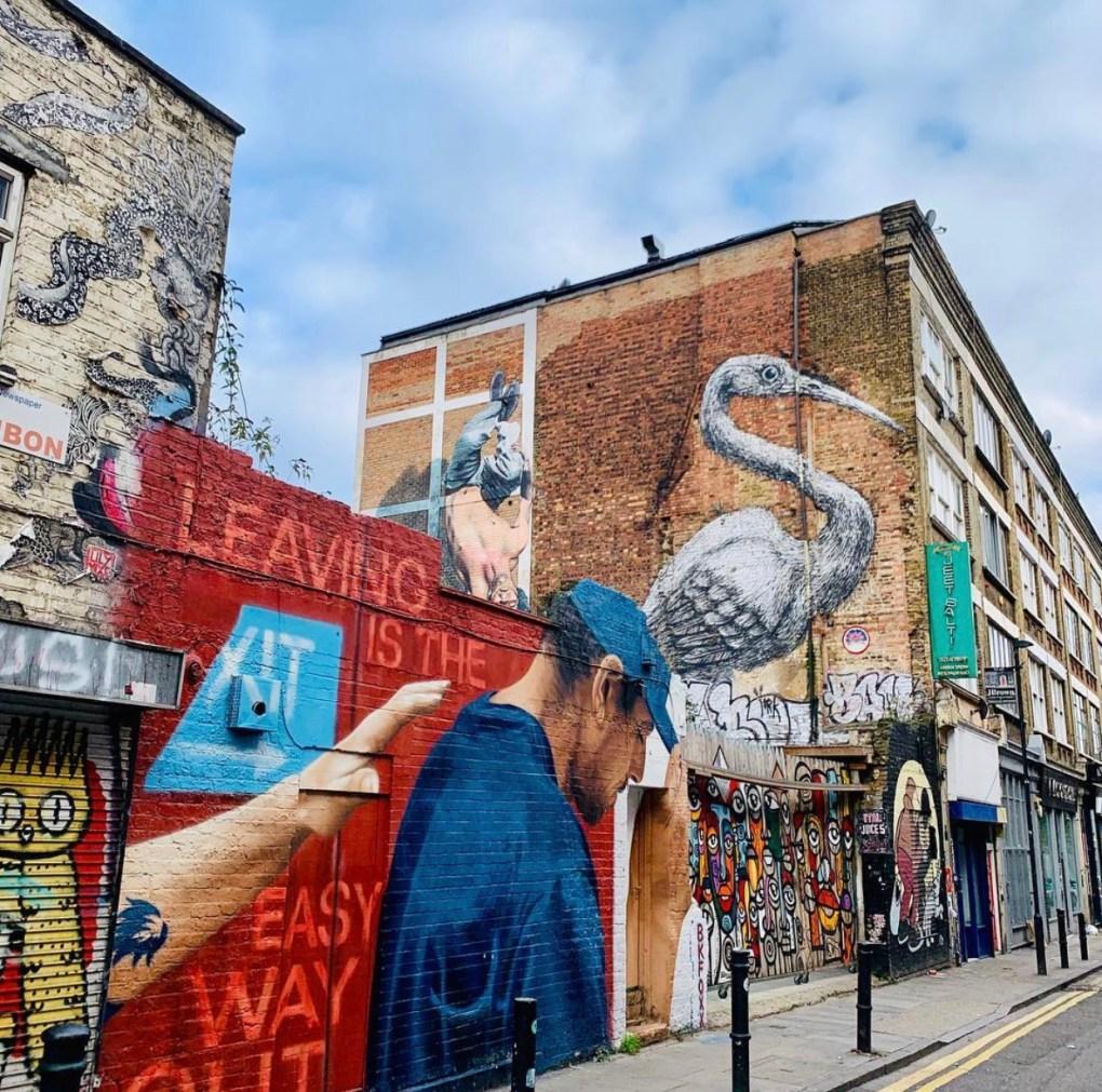 streetart shoreditch