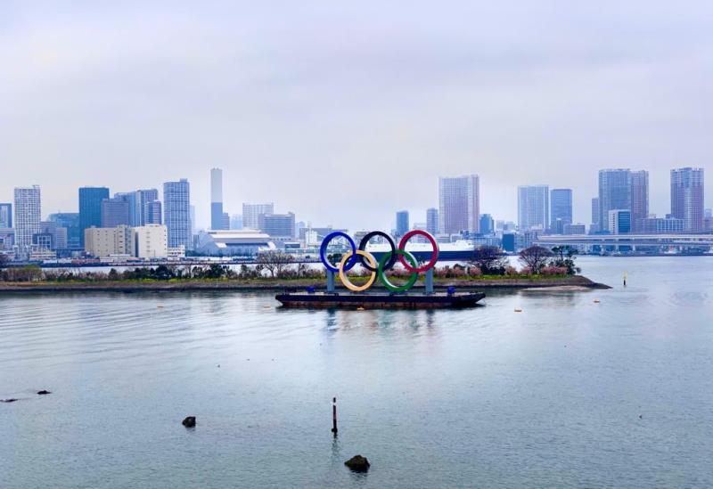 odaiba cerchi olimpici tokyo 2020