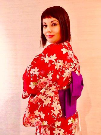 marzia parmigiani kimono tokyo Indossare un kimono nel XXI secolo