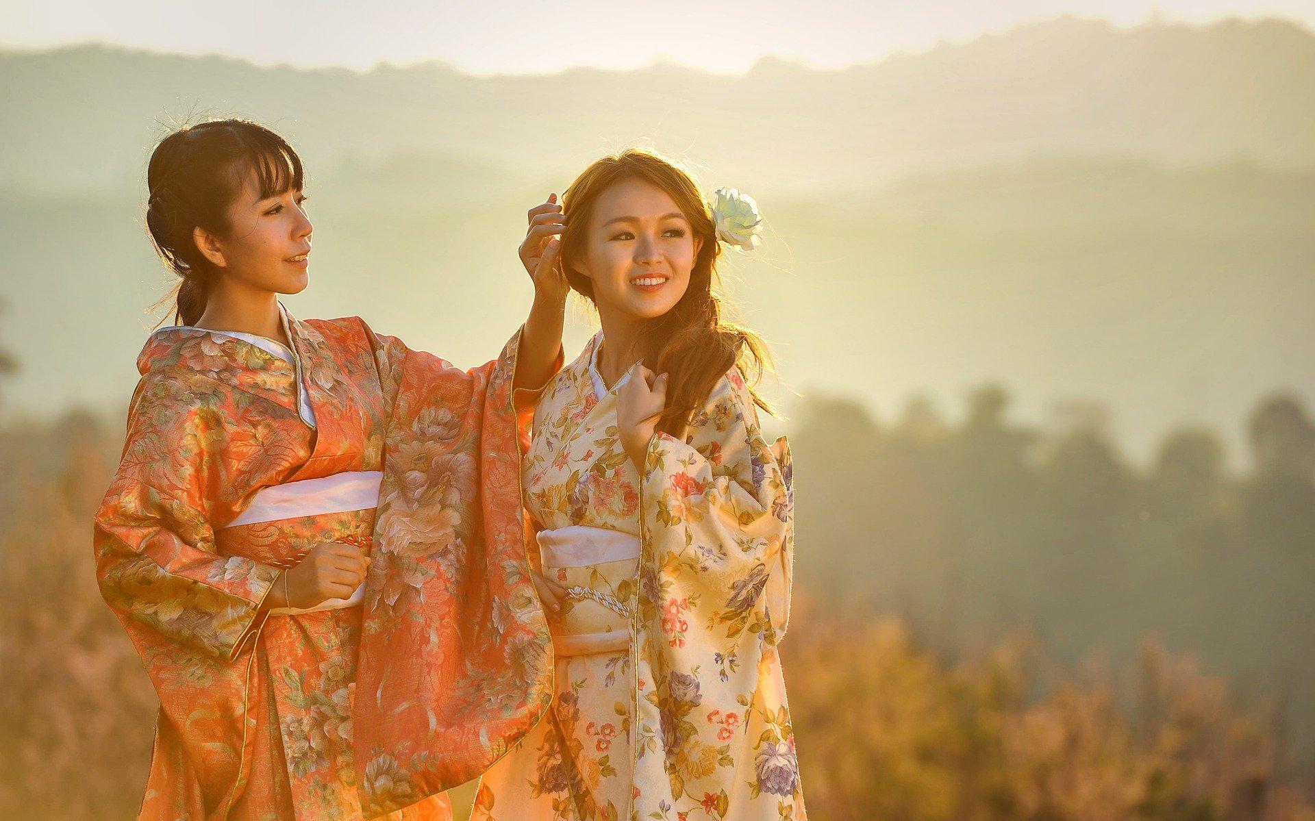 ragazze in kimono Il mio viaggio in Giappone traveltherapists miglior blog di viaggio