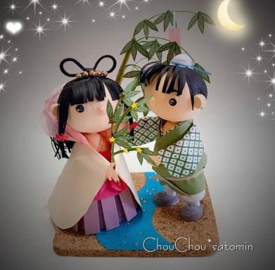 tanabata bambole