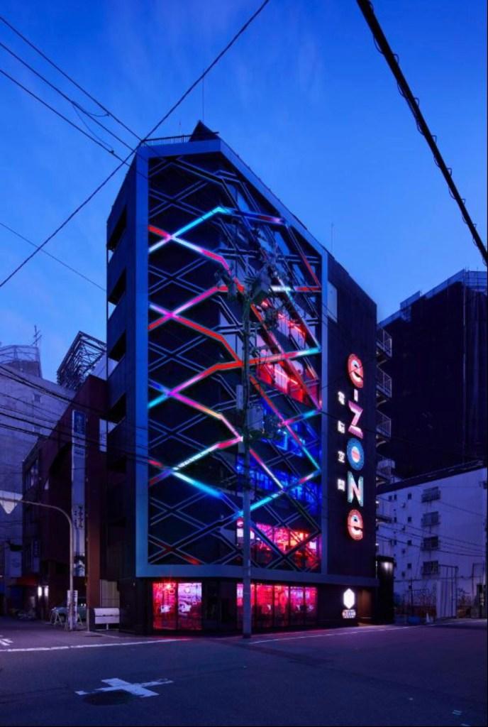 l'hotel di Osaka dedicato agli esports