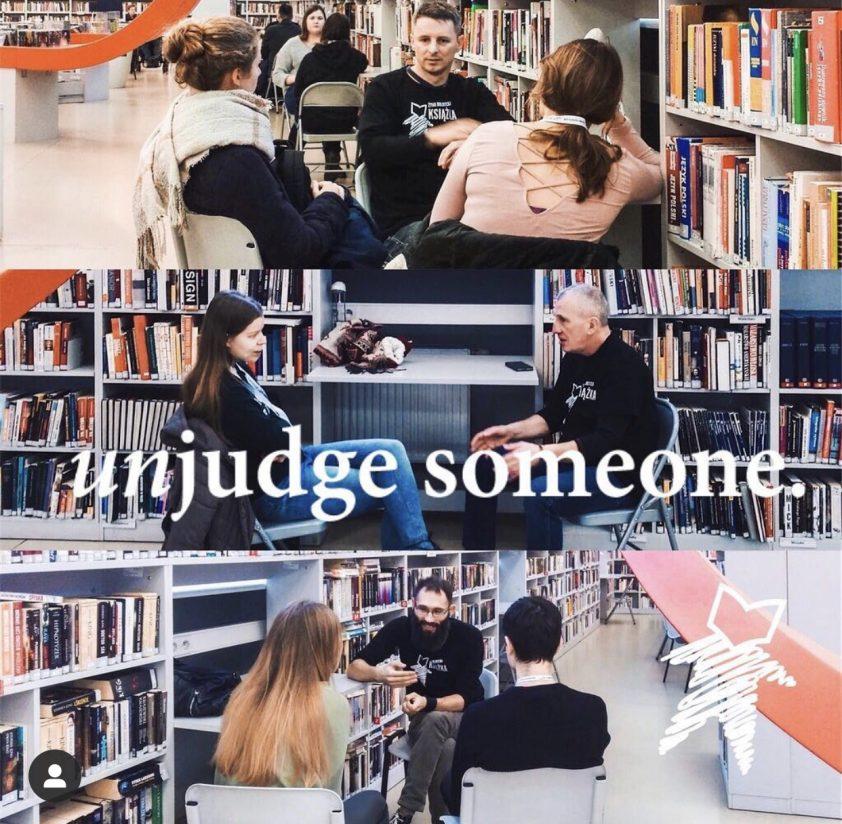 human library - fonte Instagram Il mio viaggio in Giappone traveltherapists blog giappone elina e marzia blogger miglior blog di viaggio