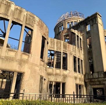 lato ospedale hiroshima distrutto da bomba atomica
