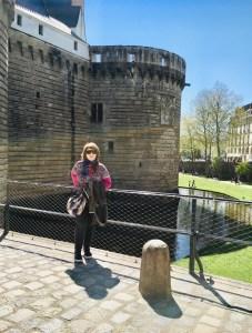 Marzia al Castello dei duchi di Bretagna di Nantes
