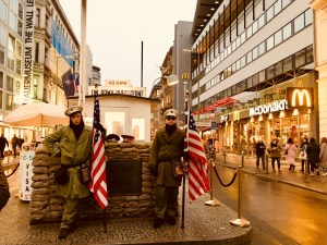 checkpoint charlie traveltherapists berlin ph M. Parmigiani