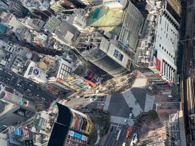 shibuya crossing visto da shibuya sky traveltherapists