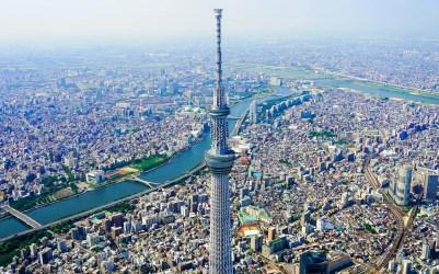 panorama della tokyo sky tree tokyo traveltherapists