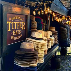 cappelli di titfer hats shop camden town traveltherapists