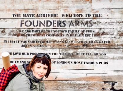 founders arms londra traveltherapists Cose non turistiche da fare a Londra