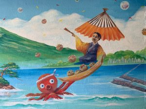 street art osaka traveltherapists elina marzia osaka kansai i migliori ristoranti takoyaki