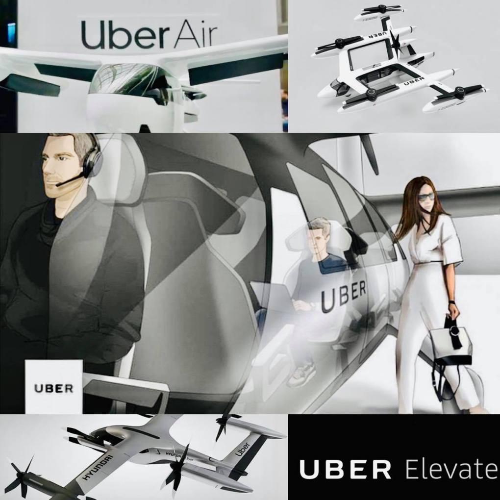 uber air uber elevate hyundai flying taxi traveltherapists VTOL prototipo copertina