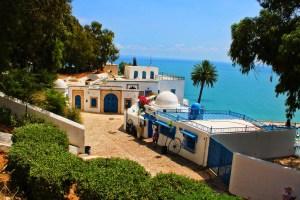 Sidi Bou Said tunisia città blu traveltherapists