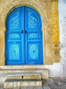 blue door Jodhpur India blue city città blu traveltherapists