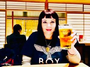 marzia traveltherapists hard rock café kyoto bonenkai shinnenkai il mio viaggio in giappone brindisi campai