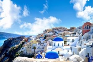 santorini grecia oia blue city città blu traveltherapists