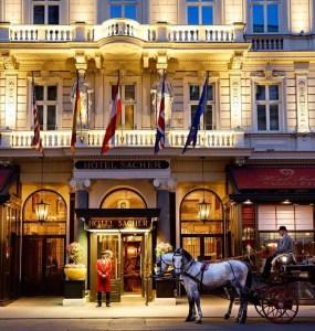 vienna traveltherapists cultura del caffè sachertorte austria. hotel