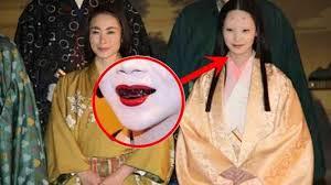 il mio viaggio in giappone annerimento denti traveltherapists perché le giapponesi coprono la bocca sopracciglia rasate