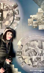 marzia dentro la Tokyo Tower il mio viaggio in giappone traveltherapists