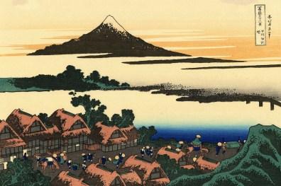 colori saturi disegno monte fuji fujisan il mio viaggio in giappone traveltherapists miglior blog di viaggio.
