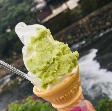 cremoso gelato wasabi il mio viaggio in giappone traveltherapists miglior blog di viaggio