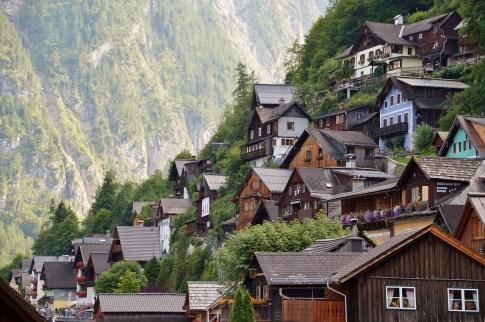 casette di legno hallstatt Hallstatt città più bella del mondo