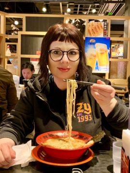 odaiba marzia-ramen-tokyo-traveltherapists Cibi giapponesi che devi provare il mio viaggio in giappone miglior blog di viaggio