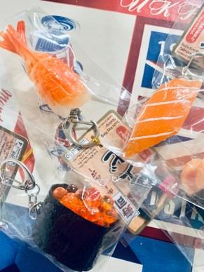 portachiavi sushi daiso il mio viaggio in giappone traveltherapists Snack e oggetti imperdibili dal Giappone