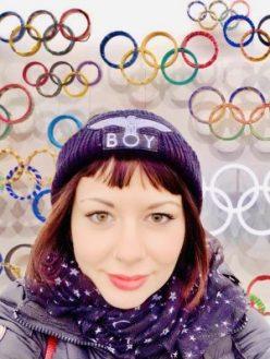 Nomadi digitali in Giappone marzia al museo delle olimpiadi di Tokyo