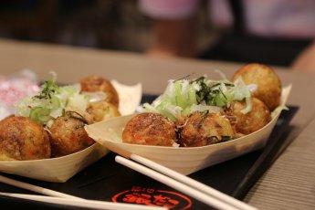 polpette di takoyaki dorate