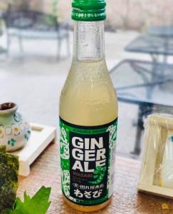 ginger ale wasabi bevanda il mio viaggio in giappone traveltherapists miglior blog di viaggio